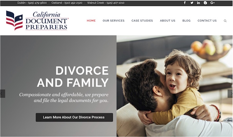 California Document Preparers New Website